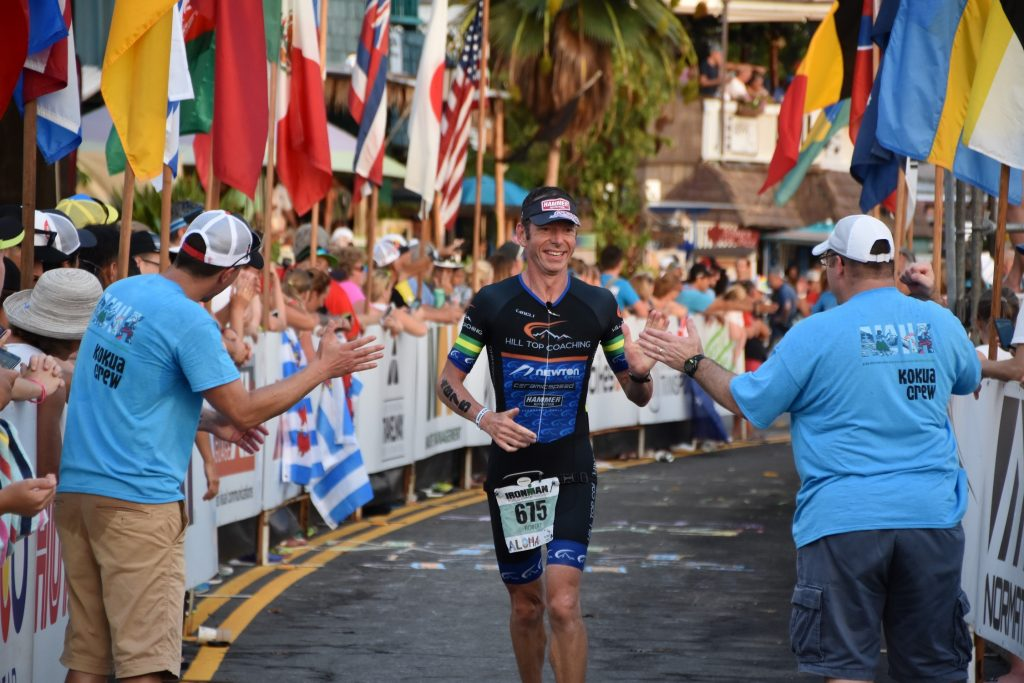 Hill Top Coaching - Rob Hill Finish Shoot IM World Championships Kona 2017